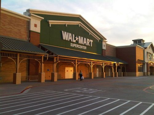 the luxury wal mart